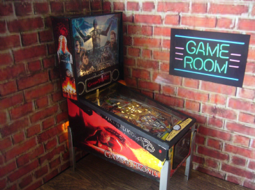 Game of Thrones 1/12th Scale Miniature Pinball Table Model